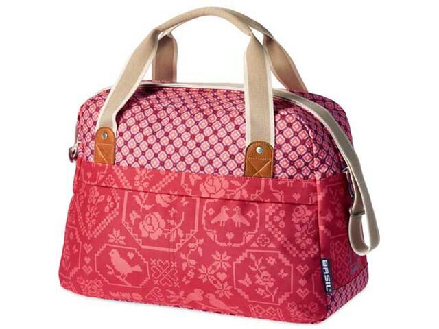 Basil Bohème-Carry - Sac porte-bagages - 18l rouge